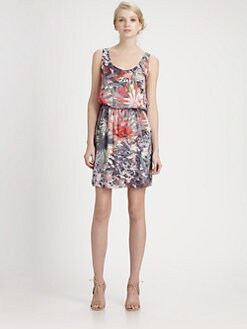 Alice + Olivia - Roi Silk Tank Dress