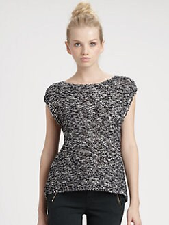Alice + Olivia - Jules Silk Top