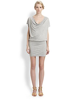 Alice + Olivia - Jersey Drape Dress