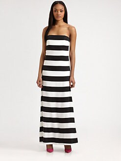 Alice + Olivia - Chandra Strapless Maxi Dress