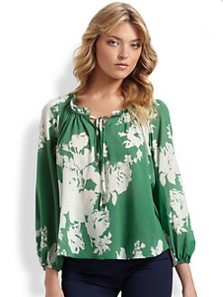 Alice + Olivia - Floral-Print Top