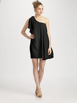 Alice + Olivia - One-Shoulder Dress