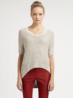Alice + Olivia - Boxy Hi-Lo Sweater