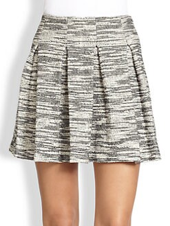 Alice + Olivia - Davis Pleated Skirt