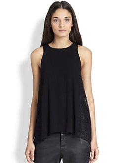 Alice + Olivia - Lindsay Long Tank Top