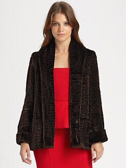 Alice + Olivia - Townes Faux Fur Jacket