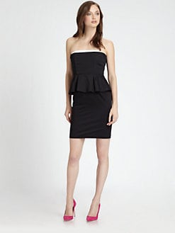 Alice + Olivia - Lina Peplum Dress