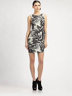 Alice + Olivia - Lorena Open-Back Dress