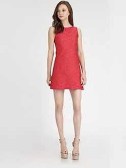 Alice + Olivia - Marlene Sleeveless A-Line Dress