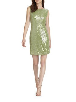 Alice + Olivia - Ally Sequin Tunic Dress