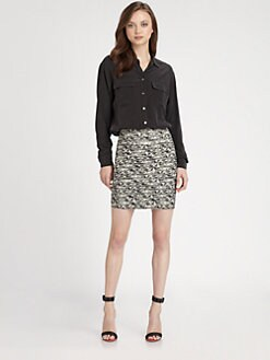 Alice + Olivia - Blaise Fitted Skirt