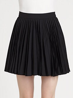 Alice + Olivia - Olette Pleated Mini Skirt