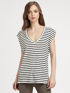 Alice + Olivia - Sleeveless Boxy Tee