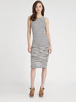 Alice + Olivia - Ruched Tank Dress