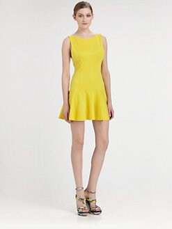 Alice + Olivia - Drop Waist Dress