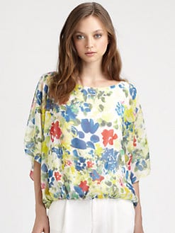 Alice + Olivia - Velma Open Shoulder Top