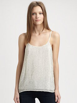 Alice + Olivia - Moran Sequin Tank Top