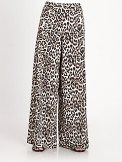 Alice + Olivia - Leopard Pants