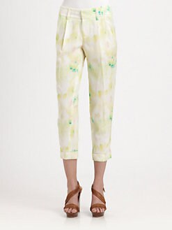 Alice + Olivia - Arthur Cropped Pants