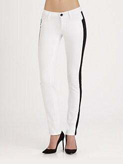 Alice + Olivia - Racing Stripe Jeans