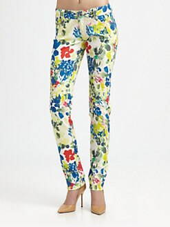 Alice + Olivia - Five-Pocket Skinny Jean