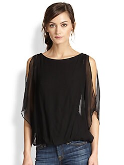Alice + Olivia - Pool Dolman Sleeve Top