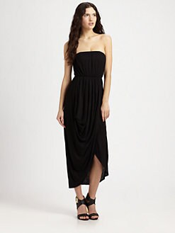 Alice + Olivia - Strapless Tulip Dress