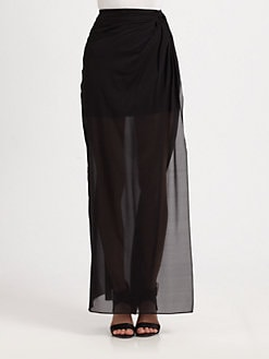 Alice + Olivia - Silk Sarong Skirt
