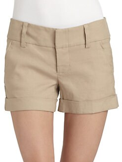 Alice + Olivia - Cady Cuff Shorts