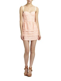 Alice + Olivia - Shellyanne Bustier Dress