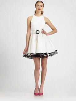Alice + Olivia - Valli Silk Dress