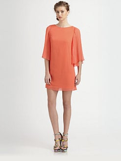 Alice + Olivia - Odette Flutter Sleeve Dress