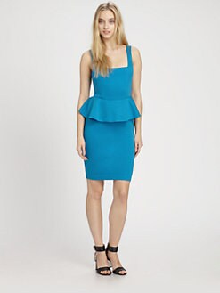 Alice + Olivia - Georgina Peplum Dress