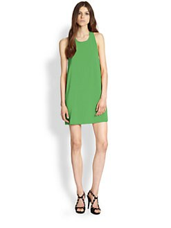 Alice + Olivia - Marion Stretch Silk Twist Dress
