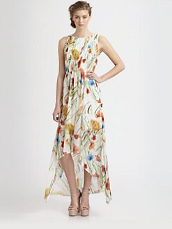 Alice + Olivia - Mel Open Back Dress