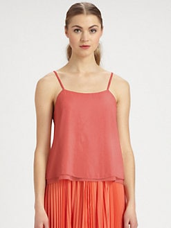 Alice + Olivia - Tiered Crinkle Camisole