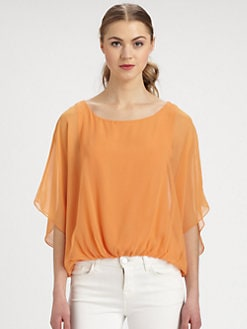 Alice + Olivia - Strayla Silk Blouse