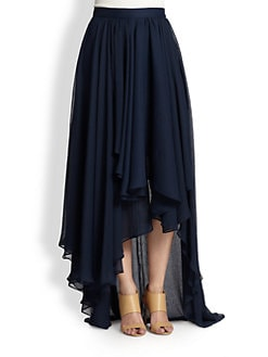 Alice + Olivia - Andy Hi-Lo Maxi Skirt