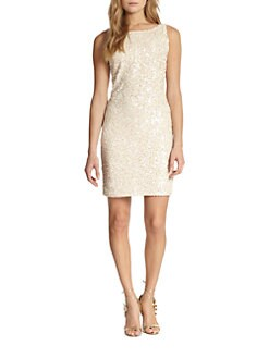 Alice + Olivia - Kimber Embellished Dress