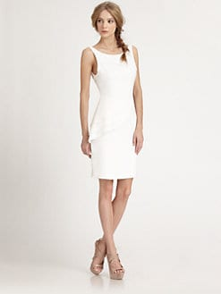 Alice + Olivia - Spelling Side Peplum Dress