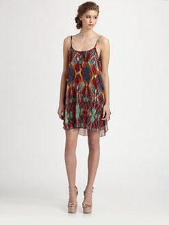 Alice + Olivia - Tribal Print Tank Dress