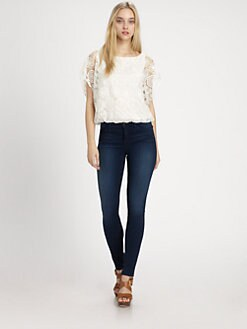 Alice + Olivia - Cheryl Lace Top