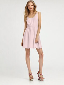 Alice + Olivia - Jayme Silk Trapeze Dress