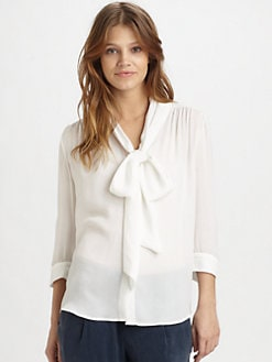 Alice + Olivia - Arie Silk Blouse