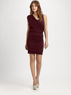 Alice + Olivia - Draped Tank Dress