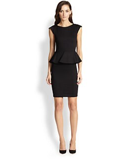 Alice + Olivia - Victoria Peplum Dress