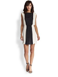 Alice + Olivia - Kennedy Silk Dress