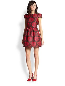 Alice + Olivia - Nelly Floral Dress