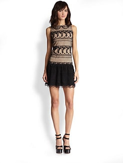 Alice + Olivia - Peri Lace Dress