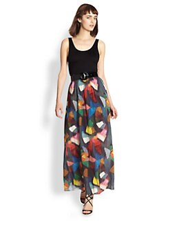 Alice + Olivia - Kell Belted Dress